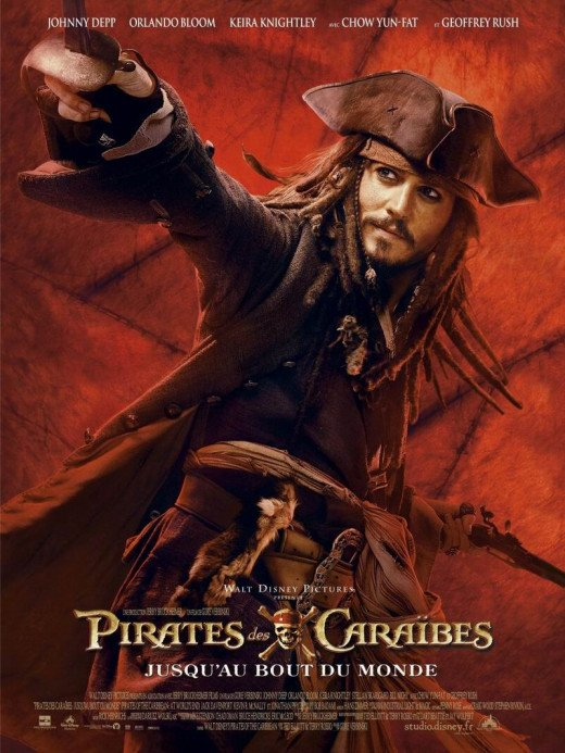Pirates of the Caribbean: At World's End (2007) French poster