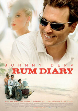 The Rum Diary (2011) German poster