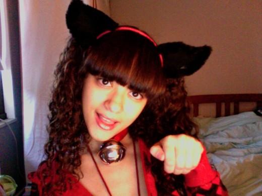 Nya!  Catgirl Sam!