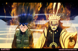 Naruto chapter 616 Whirling and Enduring