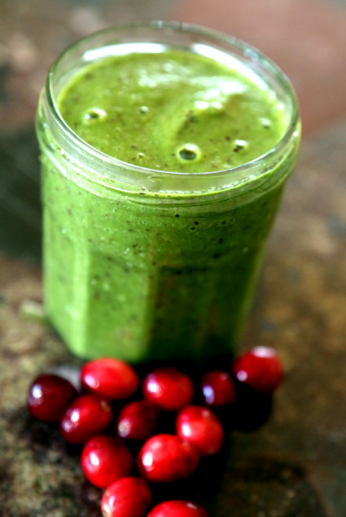 Cranberries in a smoothie? Why not!