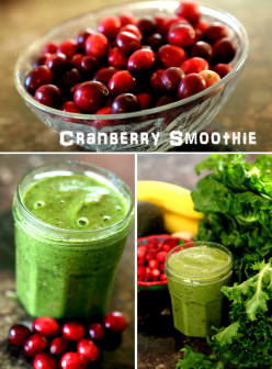 Cranberry Berry Smoothie Recipe