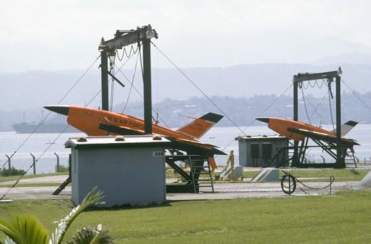 Two BQM-34 Firebees