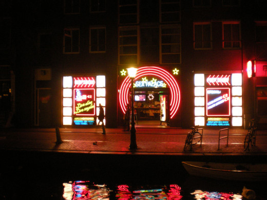 The Red Light District, Amsterdam
