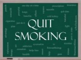 Quit smoking with jogging