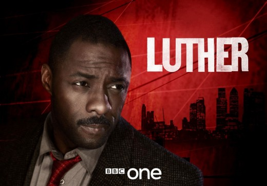 Idris Elba, is tall dark and tortured on Luther