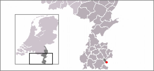 Map location of Bocholtz, The Netherlands