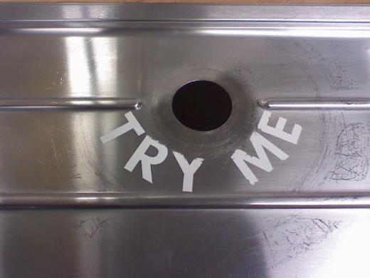 Glory Hole toilet