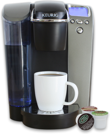 Keurig coffee maker, everyone should have one!
