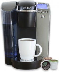 Keurig to the rescue! 1 cup at a time
