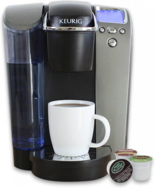 Keurig coffee maker, everyone should have one!