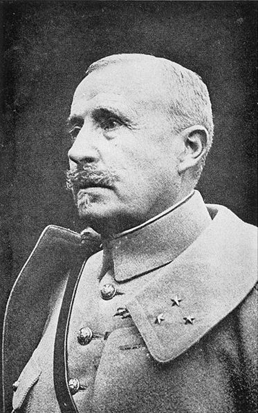 General Robert Nivelle, who took over from General Petain in May 1916.