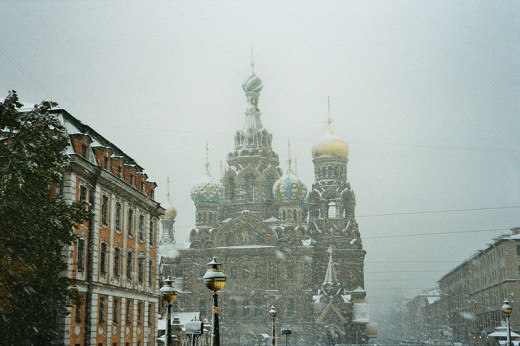 Saint Petersburg is harsh, yet still beautiful in the winter months.