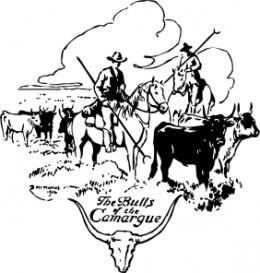 Bulls of Camargue By OCAL at CLKER.com