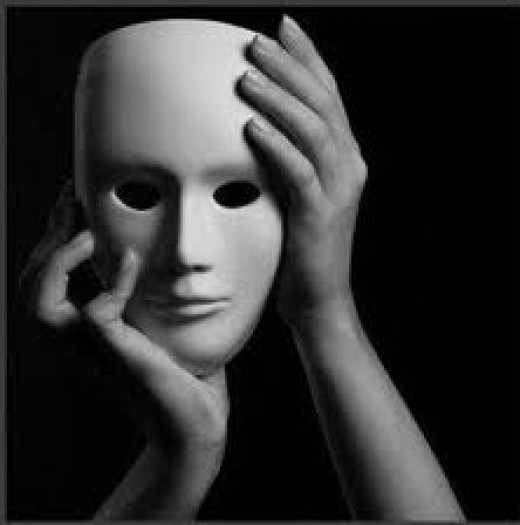 Sociopaths are often described as people who utilize a series of invisible masks. . .