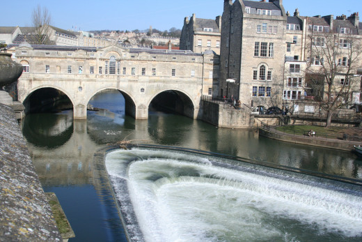 Pulteney Bridge and Weir, Bath