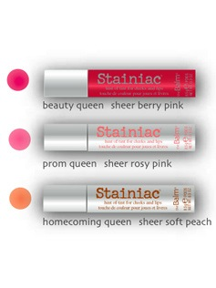 Stainiac colors and packaging.