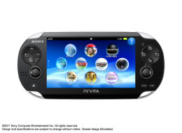The Vita has a crystal clear display.