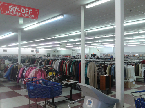 Salvation Army Thrift Store, Erie, Pa.