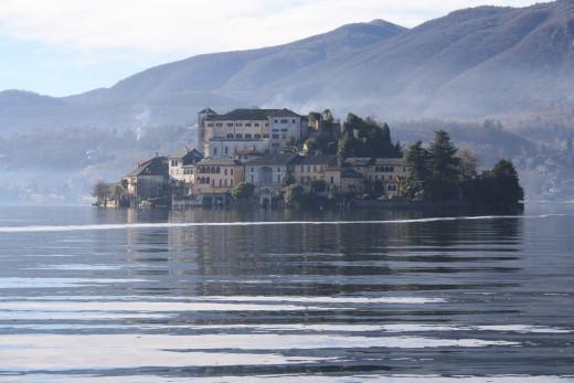 Lago d' Orta (Lake Orta), - Isola San Giulio, Italy