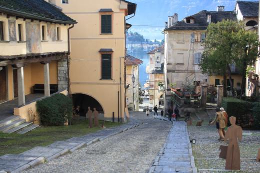 Orta San Giulio, Salita della Motta, Italy