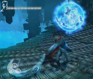 DMC Devil May Cry Defeat the Witch by shattering her shield with heavy weapons