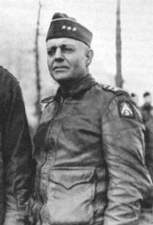General Lucian Truscott, 1895-1965.