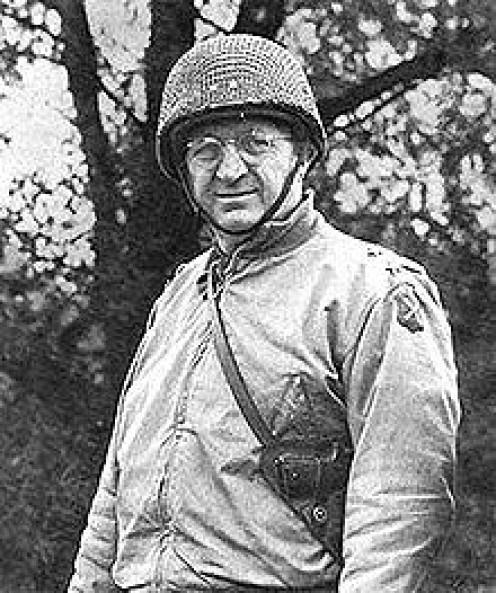 Gen. Eddy as commander of XII Corps