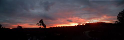Panaramic Sunset