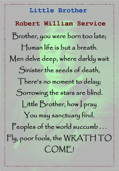 Happy birthday brother poem