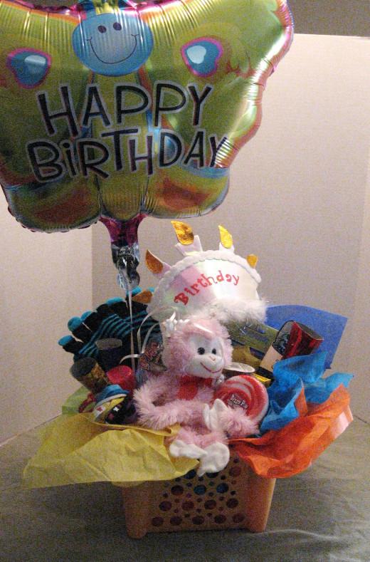 Girl's Birthday Basket