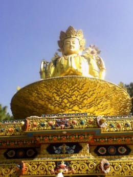 Manjushri, the Bodhisattva (Buddha-to-be) is highly regarded in Zen Buddhism