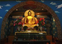 The Buddha in meditating posture