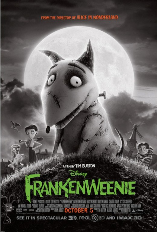 Movie poster for the 2012 version