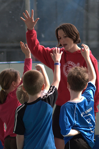 If playing for fun, team sports can be a great self-esteem builder.