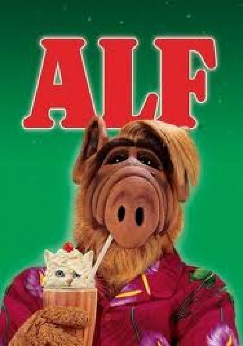 Alf was a comedy show that was popular in the early 90's. Alf stood for Alien Life Form.