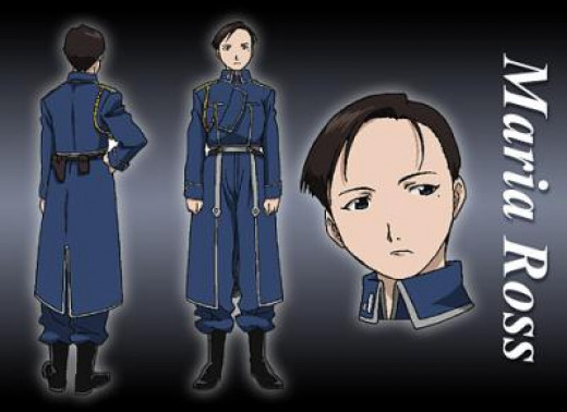 Maria Ross from Fullmetal Alchemist