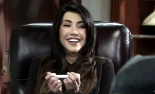 Steffy is thrilled to learn she's having Liam's baby.