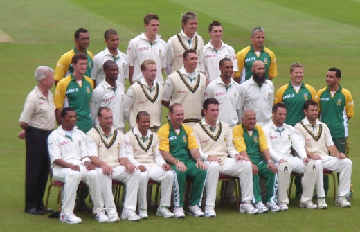 Photo of South African Cricket Team in 2008