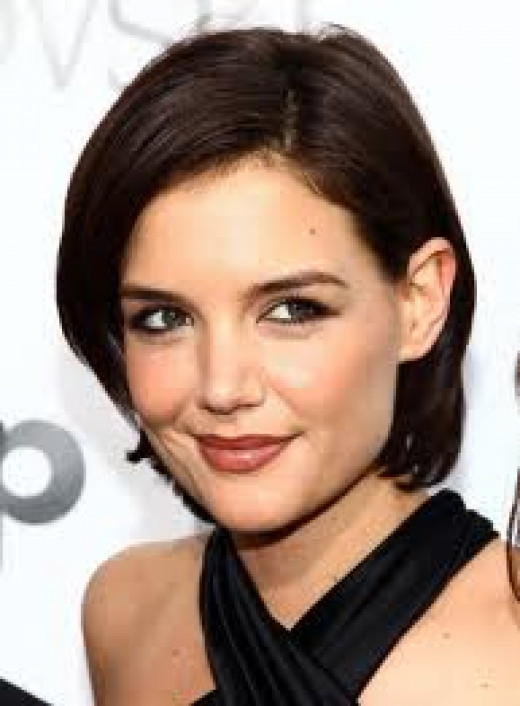 "Your basic brown-eyed-brunette.  Cute, saucy and vibrant.   ""Katie Holmes"""