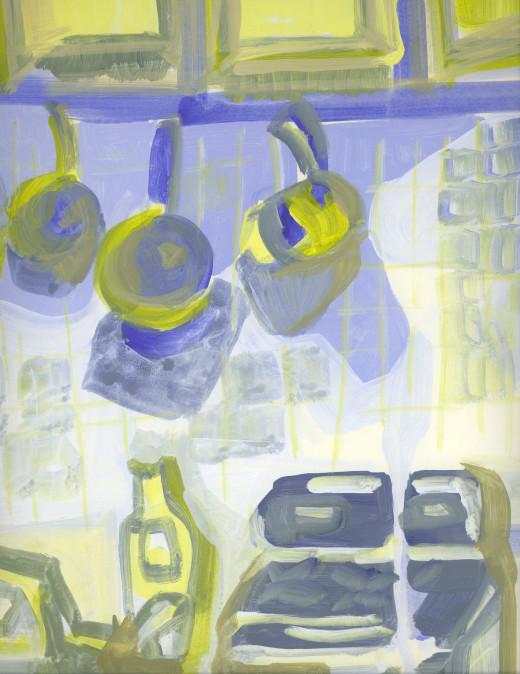 Boston Apartment Kitchen - Acrylic
