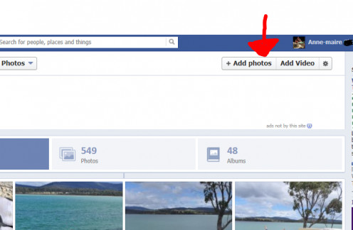 Photo's and Video can be stored on facebook for free.