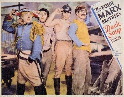 Duck Soup (1933) Lobby Card