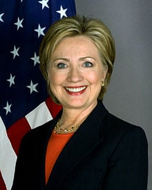 The current Secretary of State, Hillary Clinton is the preeminent nominee for the Democratic nomination in 2016, if she chooses to accept it.