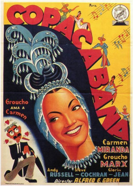 Copacabana (1947) Spanish poster