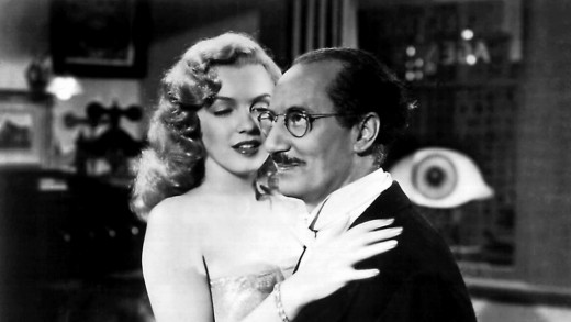 Marilyn Monroe with Groucho in Love Happy (1949)
