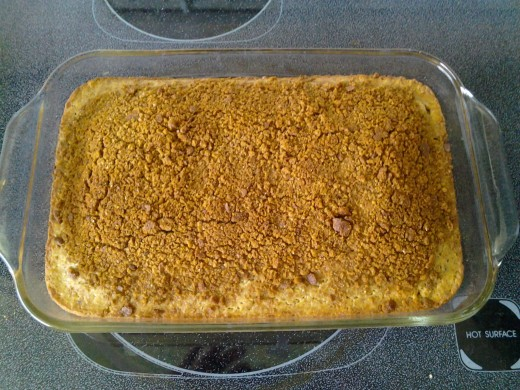 Graham Cracker Coffee Cake