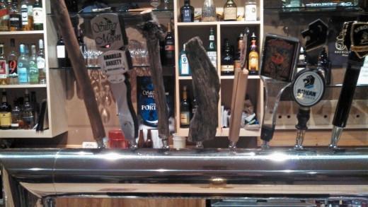 What's on tap--local and in-house.