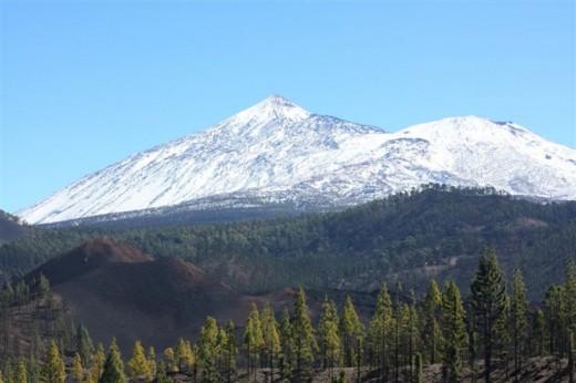 Mt Teide in winter
