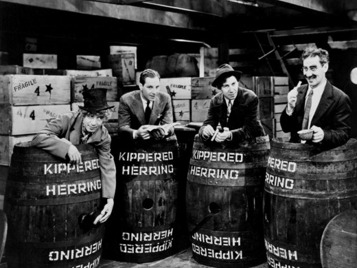 The Marx Brothers in Monkey Business (1931)